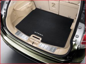 Автомобильный коврик в багажник внедорожника Nissan X-Trail