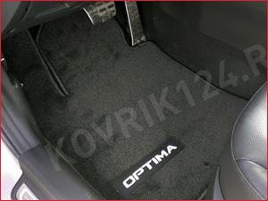 Коврик в салон автомобиля KIA Optima