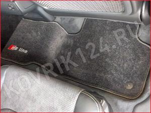 Коврик в салон авто БМВ