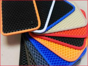 Выбор цветов для изготовления ковриков ЕВА