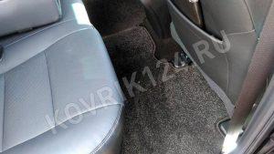 Сплошной коврик в салон автомобиля на заднее сиденье Toyota Camry