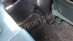 Задние коврики в салон Тойота Камри